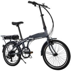Oslo Electric Lightweight Folding Commuter Bike for Adults, Black, 36V